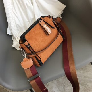 Women Messenger Bags Shoulder Vintage Bag Ladies Crossbody Bag Handbag Female Tote Leather Clutch Female Red Brown Hot Sale Bags